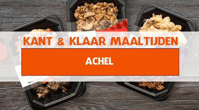 warme maaltijden voor ouderen in Achel