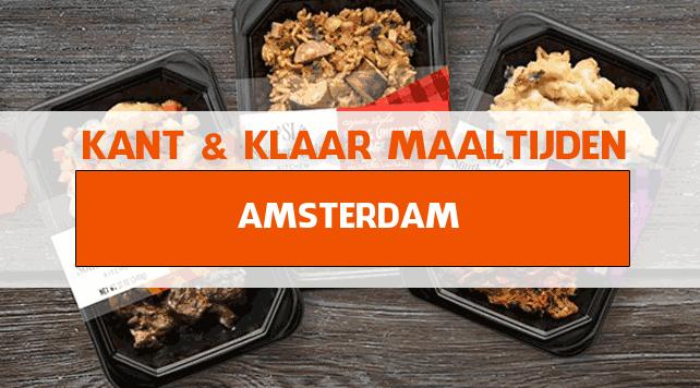 warme maaltijden voor ouderen in Amsterdam