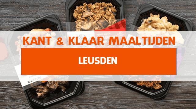 warme maaltijden voor ouderen in Leusden