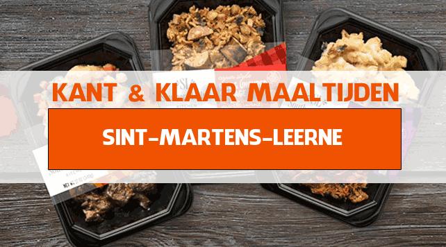 warme maaltijden voor ouderen in Sint-Martens-Leerne