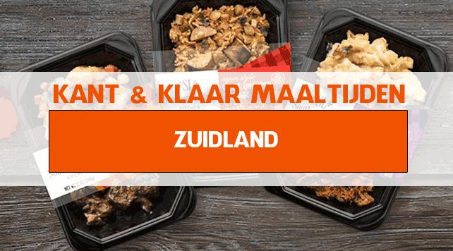 warme maaltijden voor ouderen in Zuidland